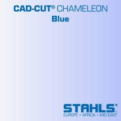 Iridescent Heat Transfer Vinyl | STAHLS CAD-Cut Chameleon HTV | Blue