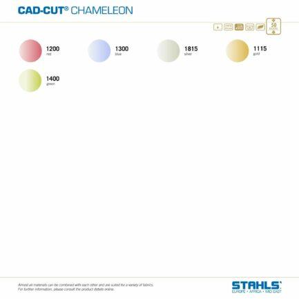 Iridescent Heat Transfer Vinyl   STAHLS CAD-Cut Chameleon HTV   Colour Range