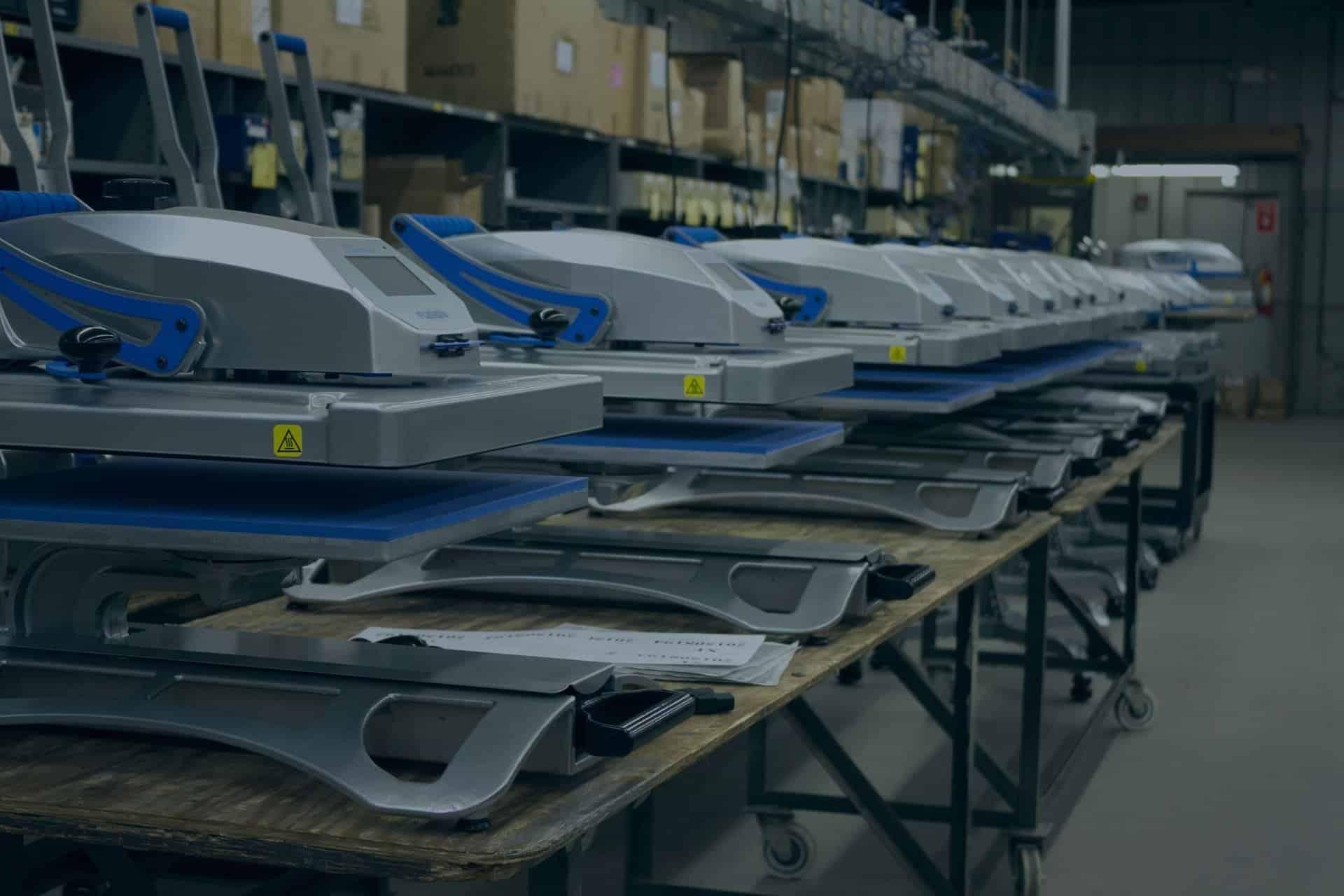 Stahls & Hotronix Heat Presses