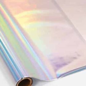 Holo Rainbow Silver