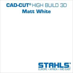 STAHLS CAD-Cut High Build Heat Transfer Vinyl   Matt White