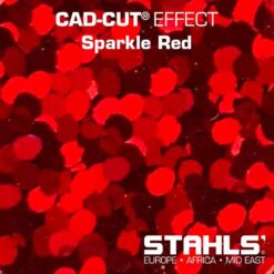 Holographic HTV | STAHLS CAD-Cut Effect | Sparkle Red
