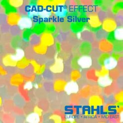 Holographic HTV | STAHLS CAD-Cut Effect | Sparkle Silver