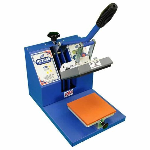 Jarin Europa Leisure HF3000 15cm x 15cm (6″ x 6″) Badge Heat Press