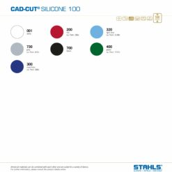 Silicone HTV Vinyl | STAHLS Silicone 100 Heat Transfer Vinyl | Colour Range