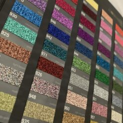 Stahls HTV Colour Card (CAD-Cut Glitter HTV Swatches)