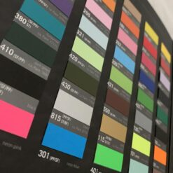 Stahls HTV Colour Card (Standard Colour Swatches)