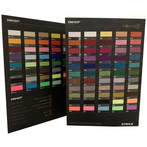 Stahls HTV Colour Card