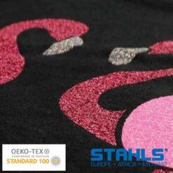 Glitter Heat Transfer Vinyl (HTV) For Garments (500mm wide)