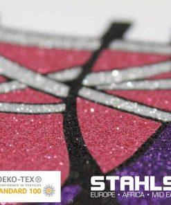 Glitter HTV   STAHLS Glitter Heat Transfer Vinyl   500mm Wide, Sold in Metre Lengths
