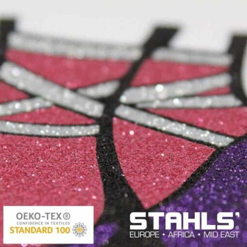 Glitter HTV | STAHLS Glitter Heat Transfer Vinyl | 500mm Wide, Sold in Metre Lengths