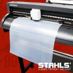 Heat Transfer Adhesive For Foils | STAHLS CAD-CUT® Adhesive | 300mm Wide by 9.1m Roll