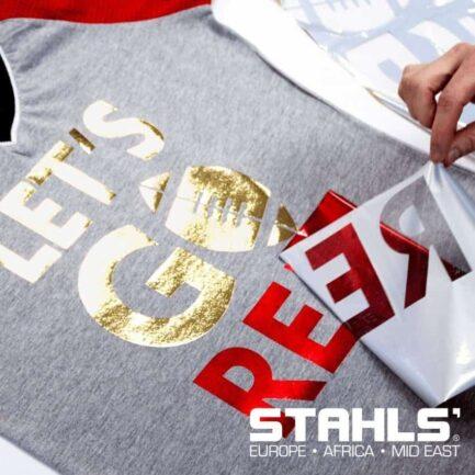 Heat Transfer Foils For Garments   300mm wide by 7.6m roll