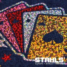 Holographic HTV | STAHLS CAD-Cut Effect | 500mm Wide, Sold in Metre Lengths